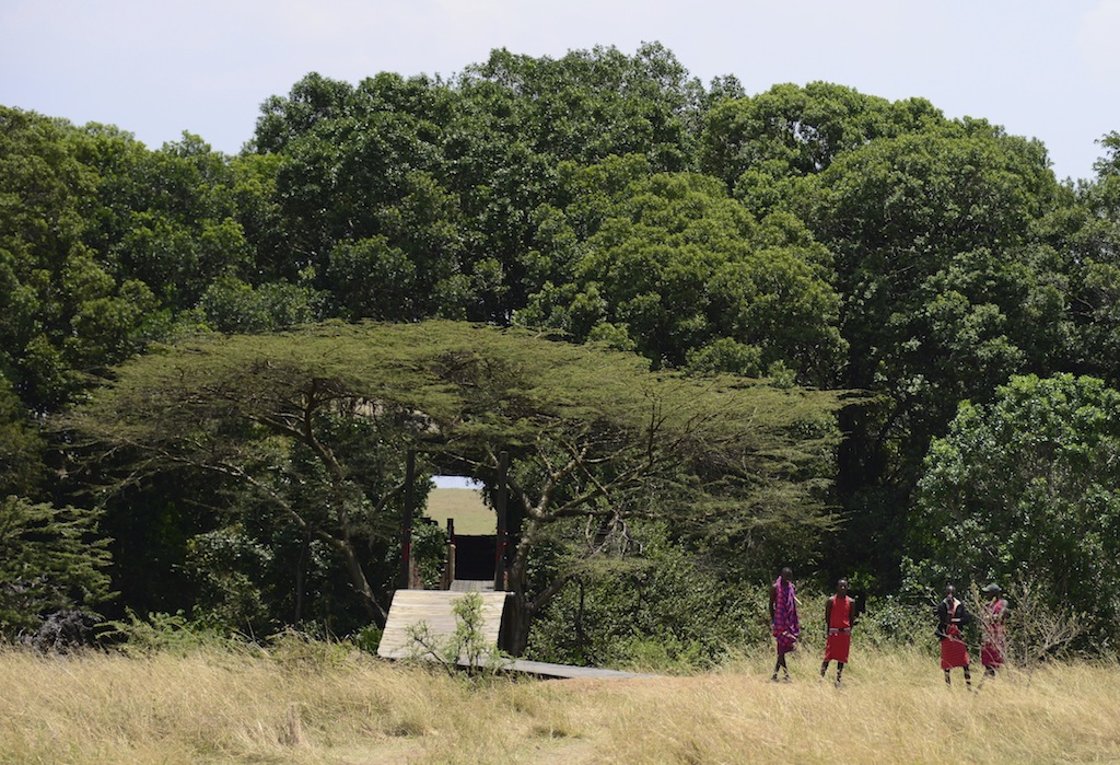Entrance to Mara Plains