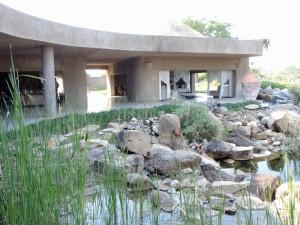 Sabi Sabi Earth lodge verandah