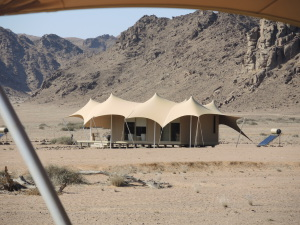 Bedouin style tents, very comfortable and well appointed.