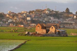 Peri-urban Tana is scenic and colorful. A veritable mix of squalor and middle class living.